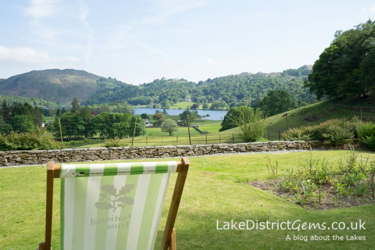 The view over Grasmere from Allan Bank