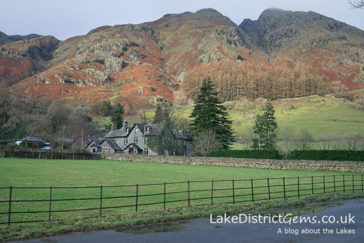 From the New Dungeon Ghyll car park in Langdale