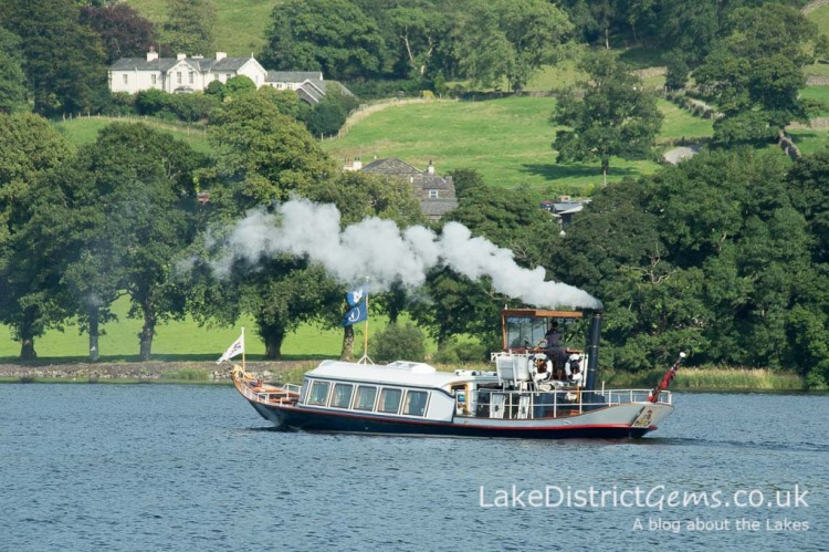 The National Trust's Steam Yacht Gondola on Coniston