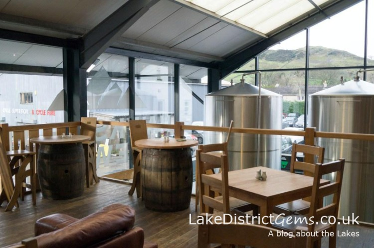 Hawkshead Brewery in Staveley near Kendal