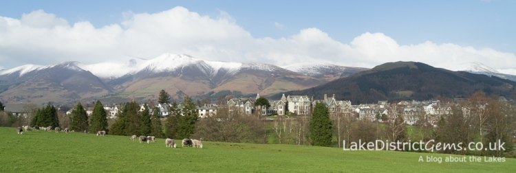 A view of Keswick from Crow Park