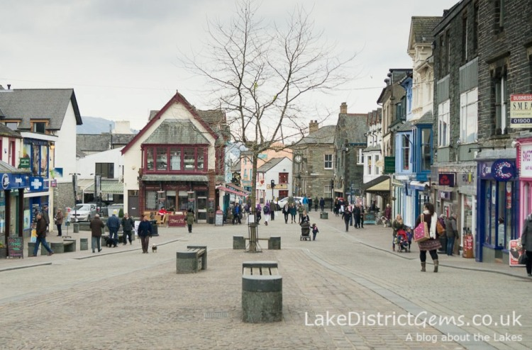 The centre of Keswick - things to do in Keswick