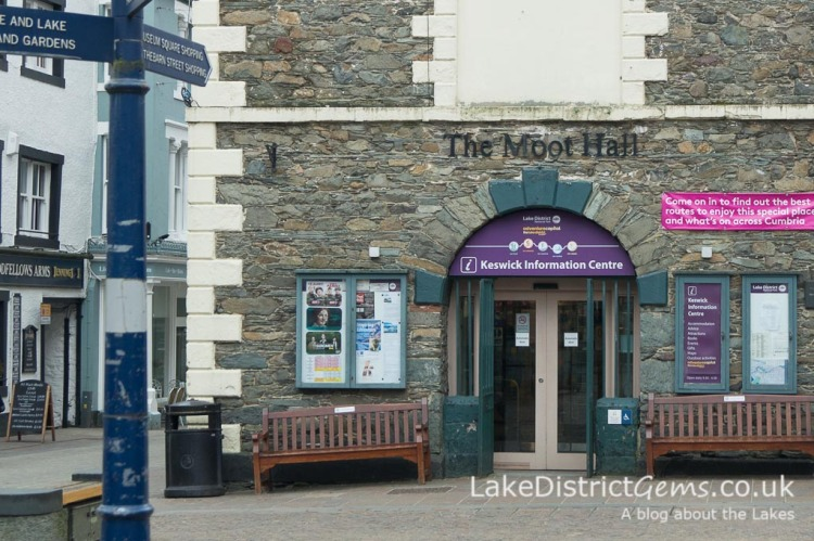 Keswick Tourist Information at the Moot Hall - things to do in Keswick