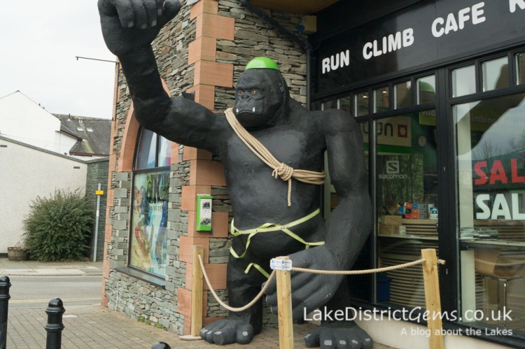 King Kong Climbing Centre in Keswick - things to do in Keswick