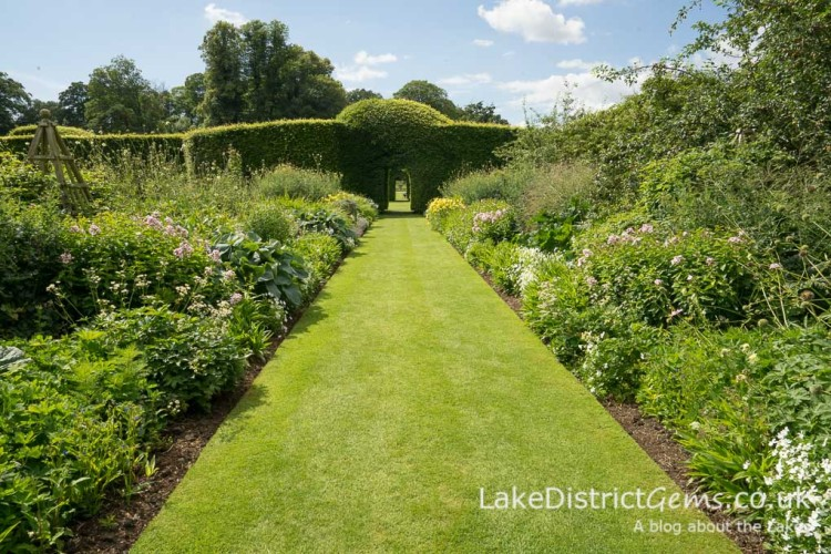 Borders at Levens Hall