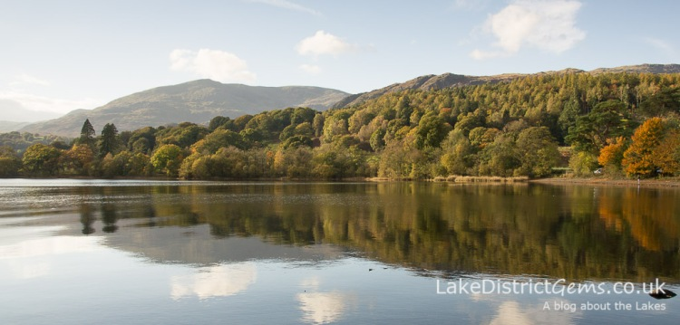 The scenery from Monk Coniston car park
