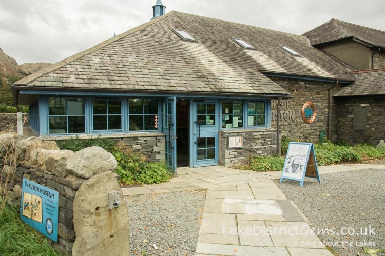 The Ruskin Museum in Coniston