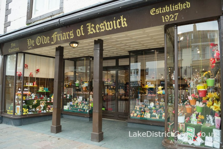 Ye Olde Friars of Keswick - shopping in Keswick