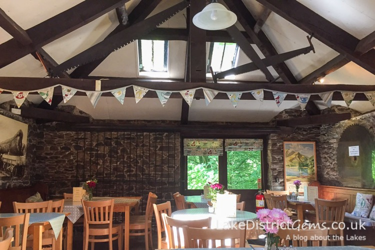 The Old Sawmill Tearoom, Dodd Wood, Bassenthwaite