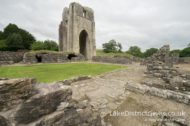 Shap Abbey, managed by English Heritage and free to visit