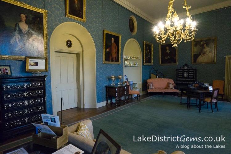 Inside Sizergh Castle