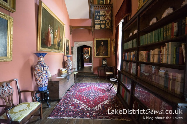 A hallway inside Sizergh Castle