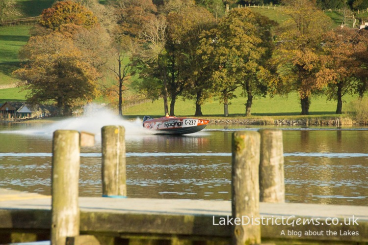 Coniston Power Boat Records Week