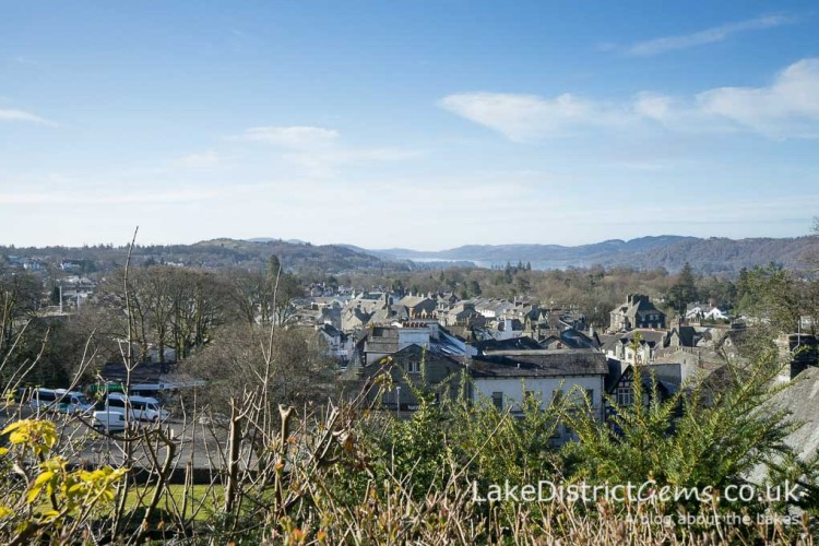 View over Windermere village