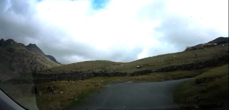 Pass road to Blea Tarn