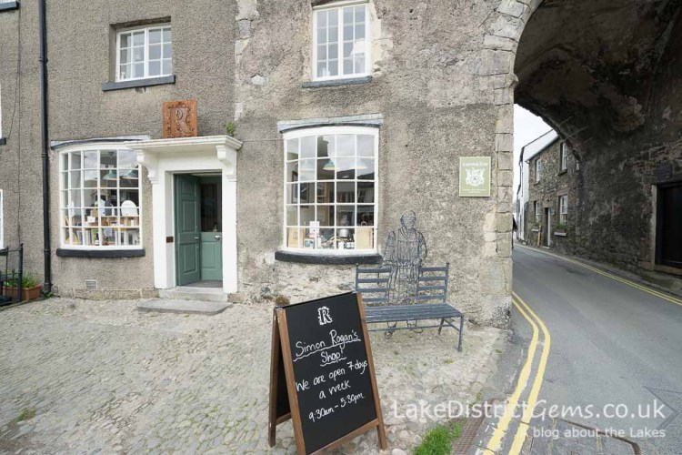 Simon Rogan's kitchen shop, Cartmel