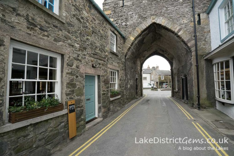 The centre of Cartmel