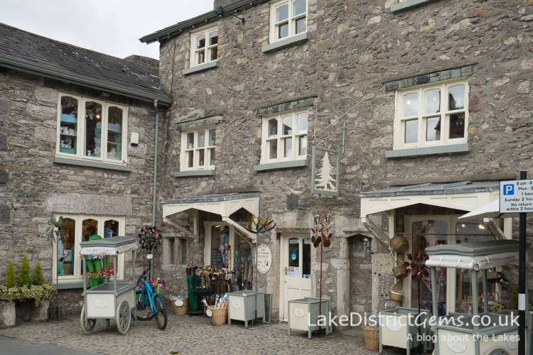 Shops in Cartmel