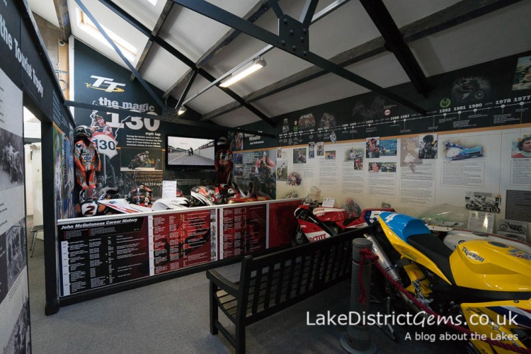 An exhibition dedicated to the Isle of Man TT
