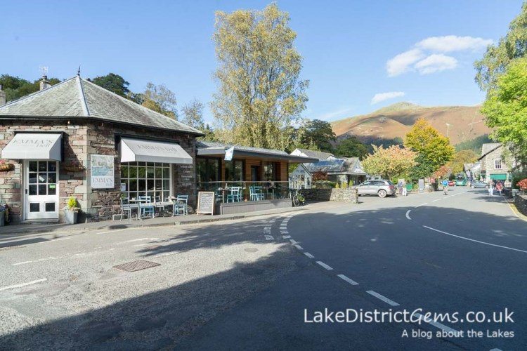 The centre of Grasmere