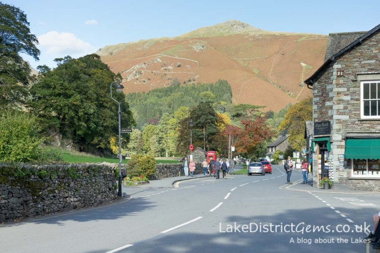 The fells surrounding Grasmere