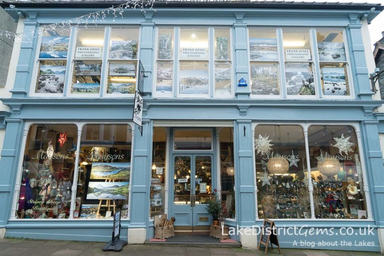 Maysons and the Frank Josef Photography Gallery on Lake Road, Keswick