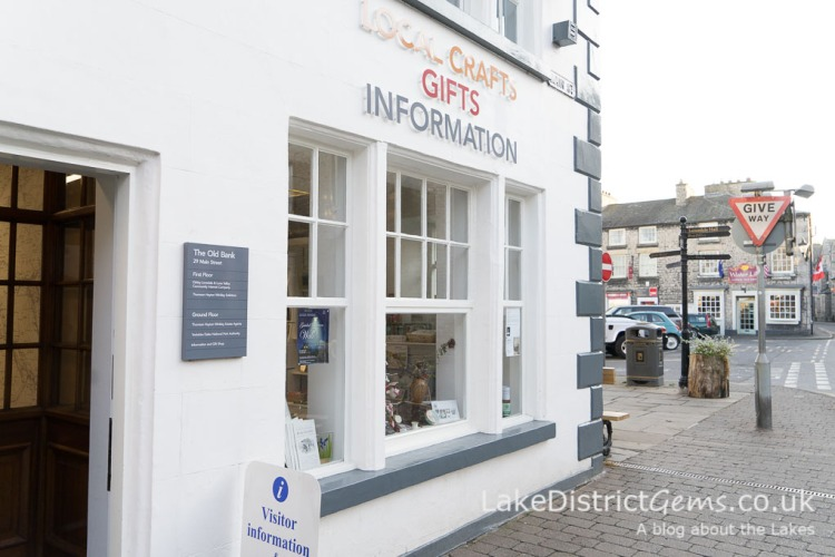 The tourist information centre near the market square, Kirkby Lonsdale