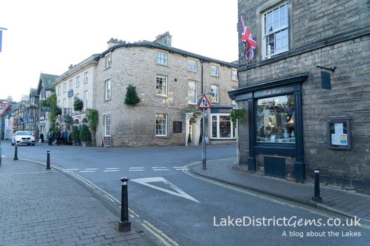 On Main Street near Market Square, Kirkby Lonsdale