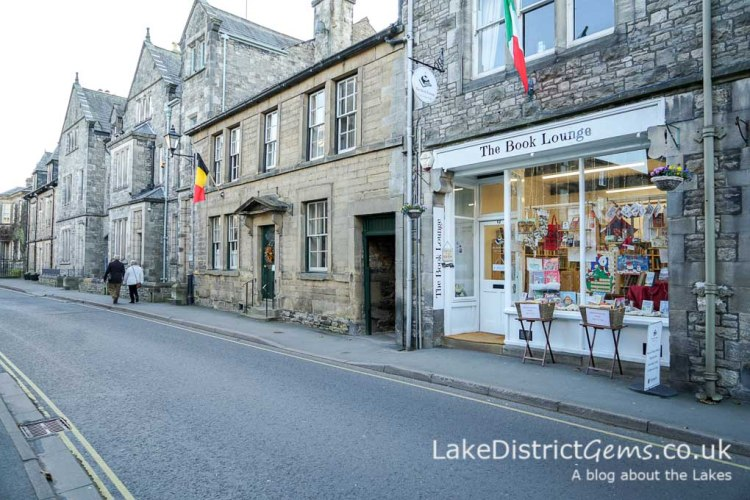 More shops and buildings on Main Street, Kirkby Lonsdale