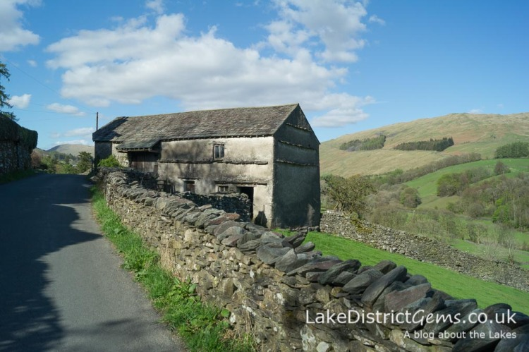 Barn in the Troutbeck valley